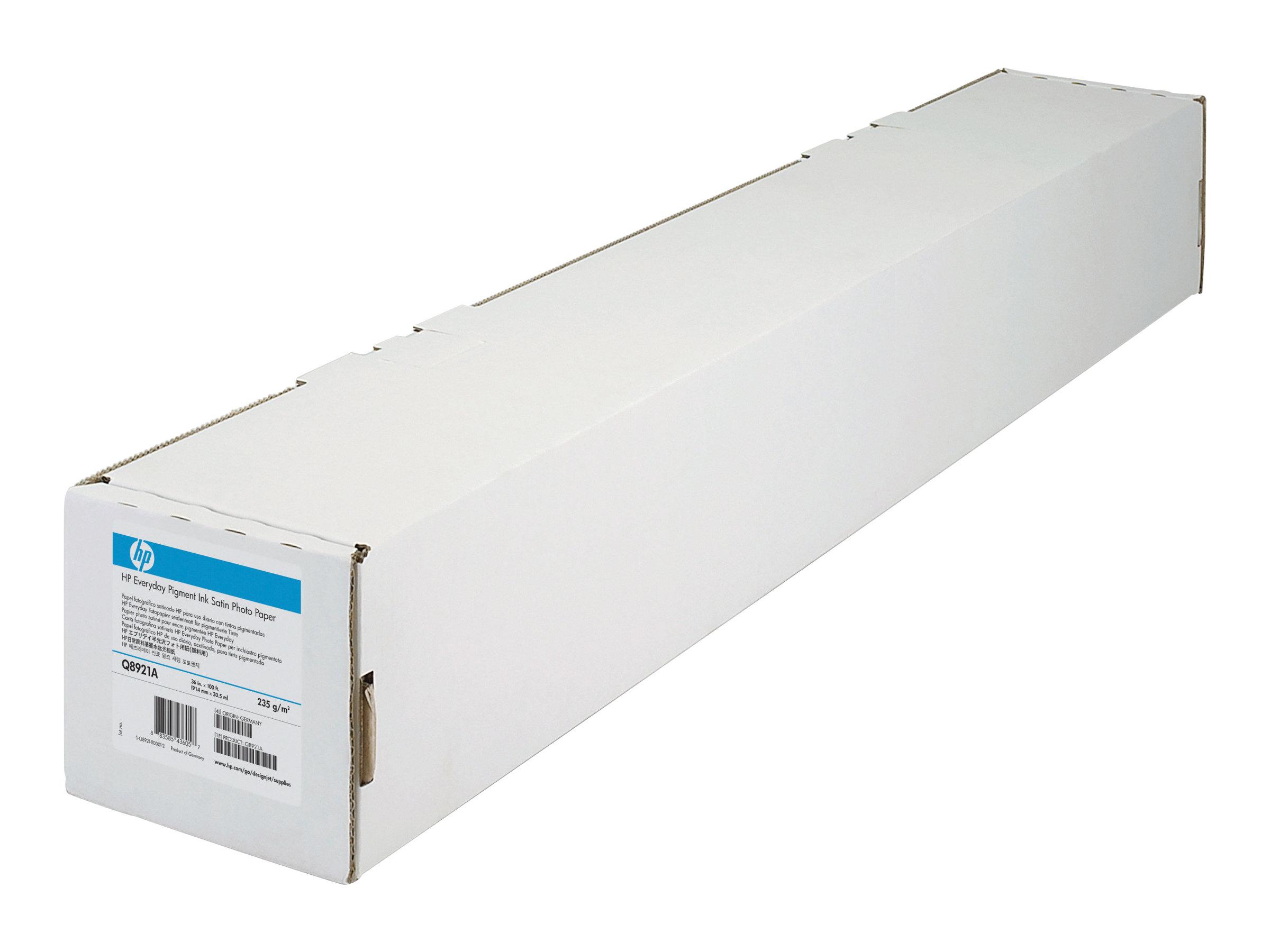 HP Professional Satin Photo Paper - Seidig - 11,4 mil - Rolle (111,8 cm x 15,2 m) 1 Rolle(n) Fotopapier - für DesignJet Z2100, Z