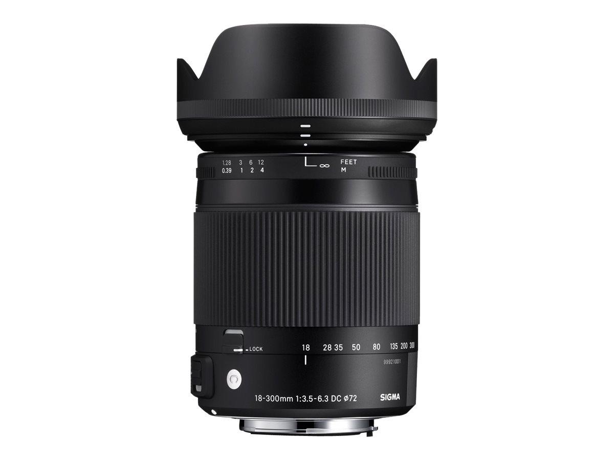 Sigma Contemporary - Zoomobjektiv - 18 mm - 300 mm - f/3.5-6.3 DC Macro OS HSM - Nikon F