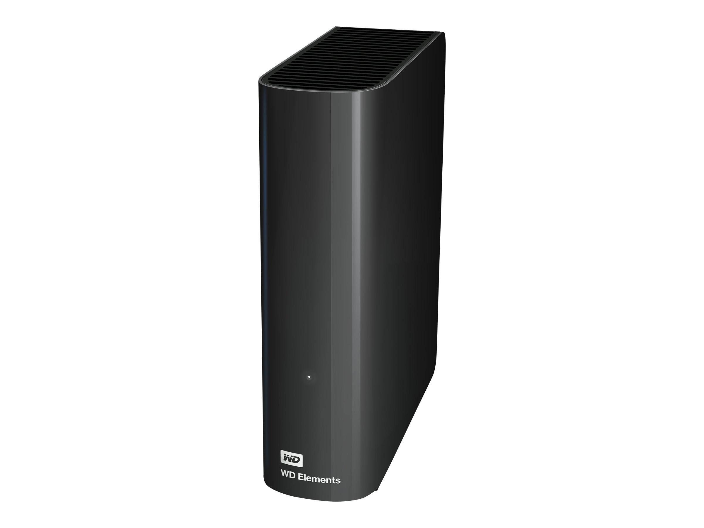 WD Elements Desktop WDBWLG0030HBK - Festplatte - 3 TB - extern (Stationär) - USB 3.0