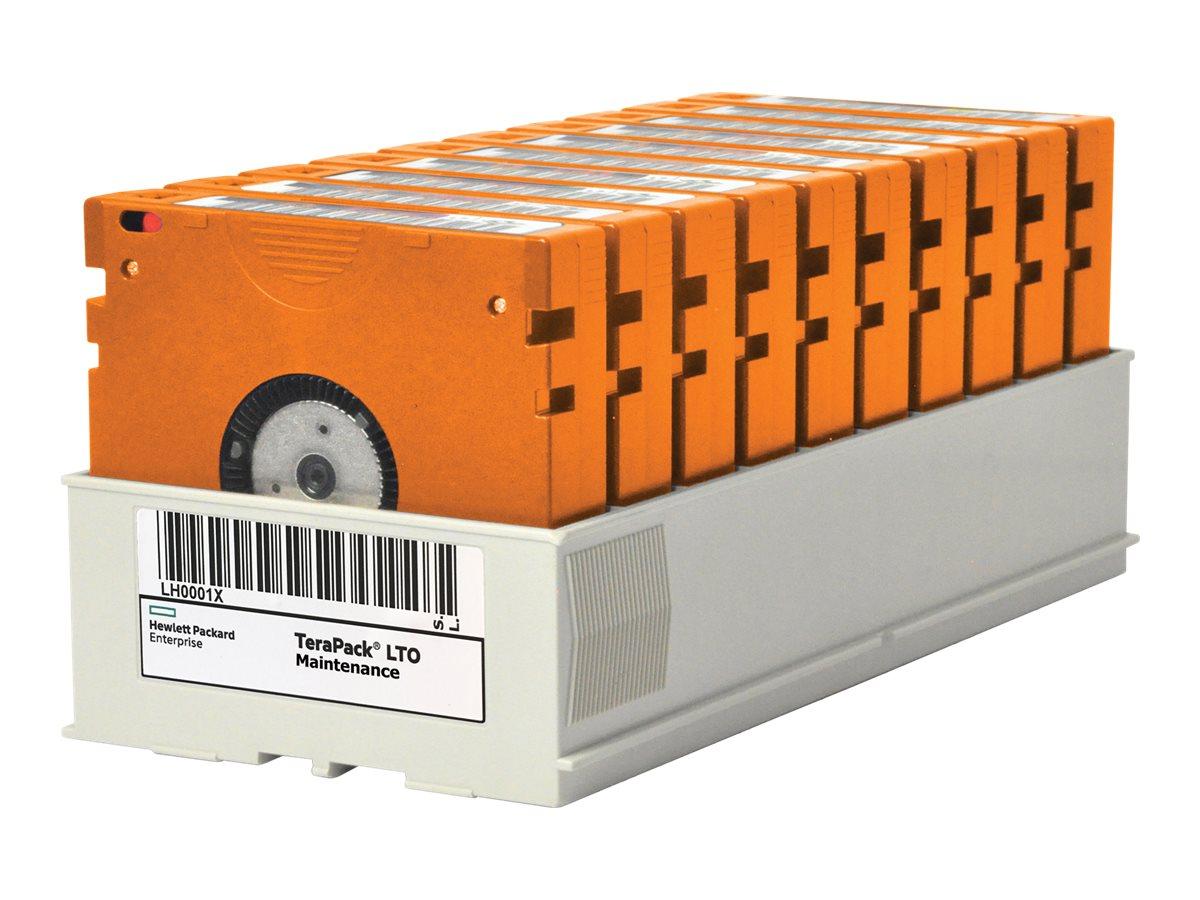 HPE TeraPack - 9 x TS1160 - 20 TB / 60 TB - mit kundenspezifischem Barcode etikettiert - für HPE T950 3, T950 6; TFinity ExaScal