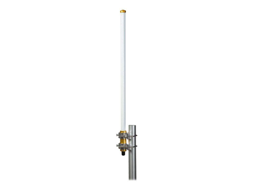 Cisco - Antenne - 5 dBi - ungerichtet - aussen, Wandmontage möglich, Stangenbefestigung - weiss