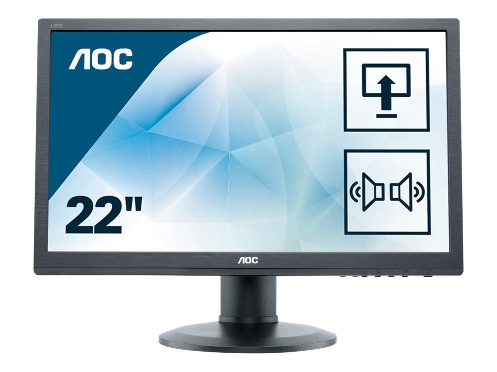 AOC e2260Pda - LED-Monitor - 55.9 cm (22