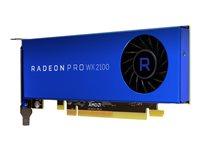 AMD Radeon Pro WX 2100 - Grafikkarten - Radeon Pro WX 2100 - 2 GB GDDR5 - PCIe 3.0 x16 - 2 x Mini DisplayPort, DisplayPort