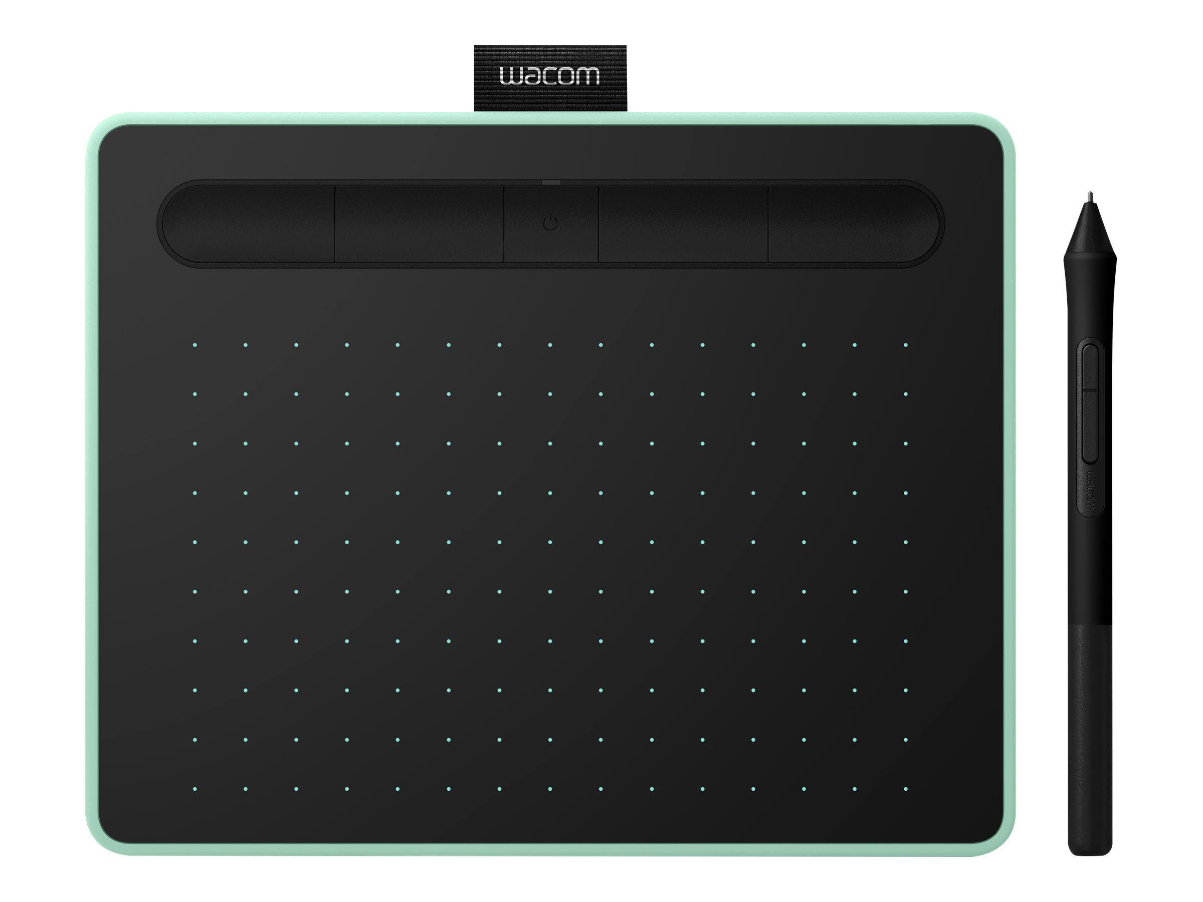 Wacom Intuos Creative Pen Small - Digitalisierer - 15.2 x 9.5 cm - elektromagnetisch - 4 Tasten - kabellos, kabelgebunden