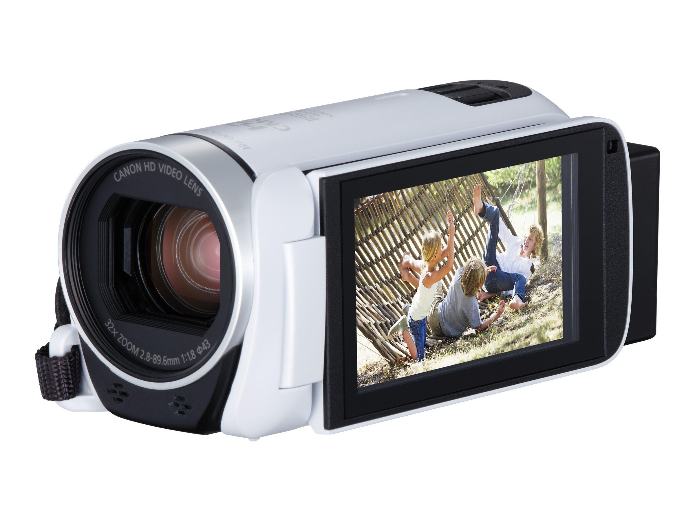 Canon LEGRIA HF R806 - Camcorder - 1080p / 50 BpS - 3.28 MPix - 32x optischer Zoom - Flash-Karte