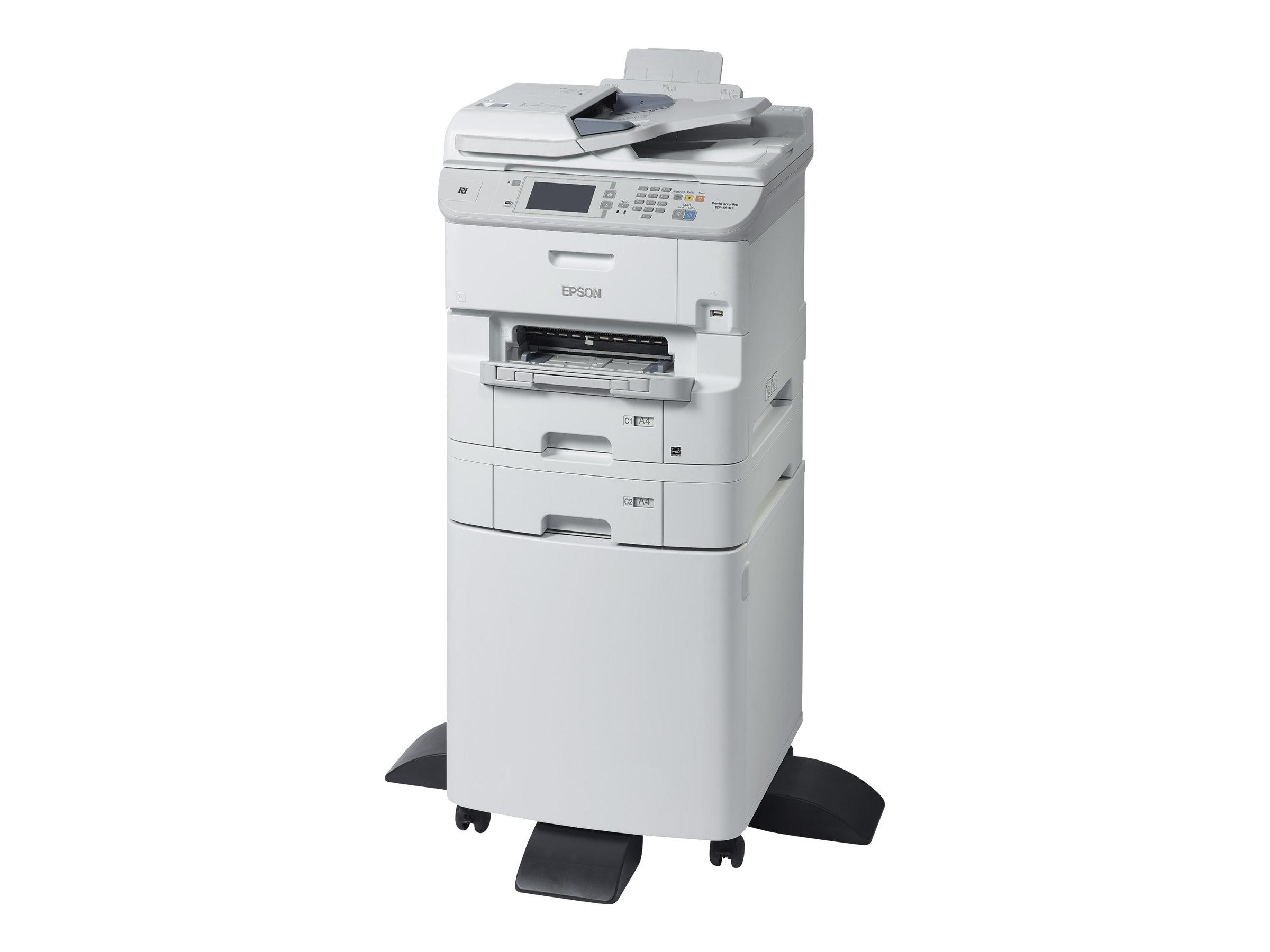 Epson WorkForce Pro WF-6590DTWFC - Multifunktionsdrucker - Farbe - Tintenstrahl - A4/Legal (Medien) - bis zu 34 Seiten/Min. (Dru