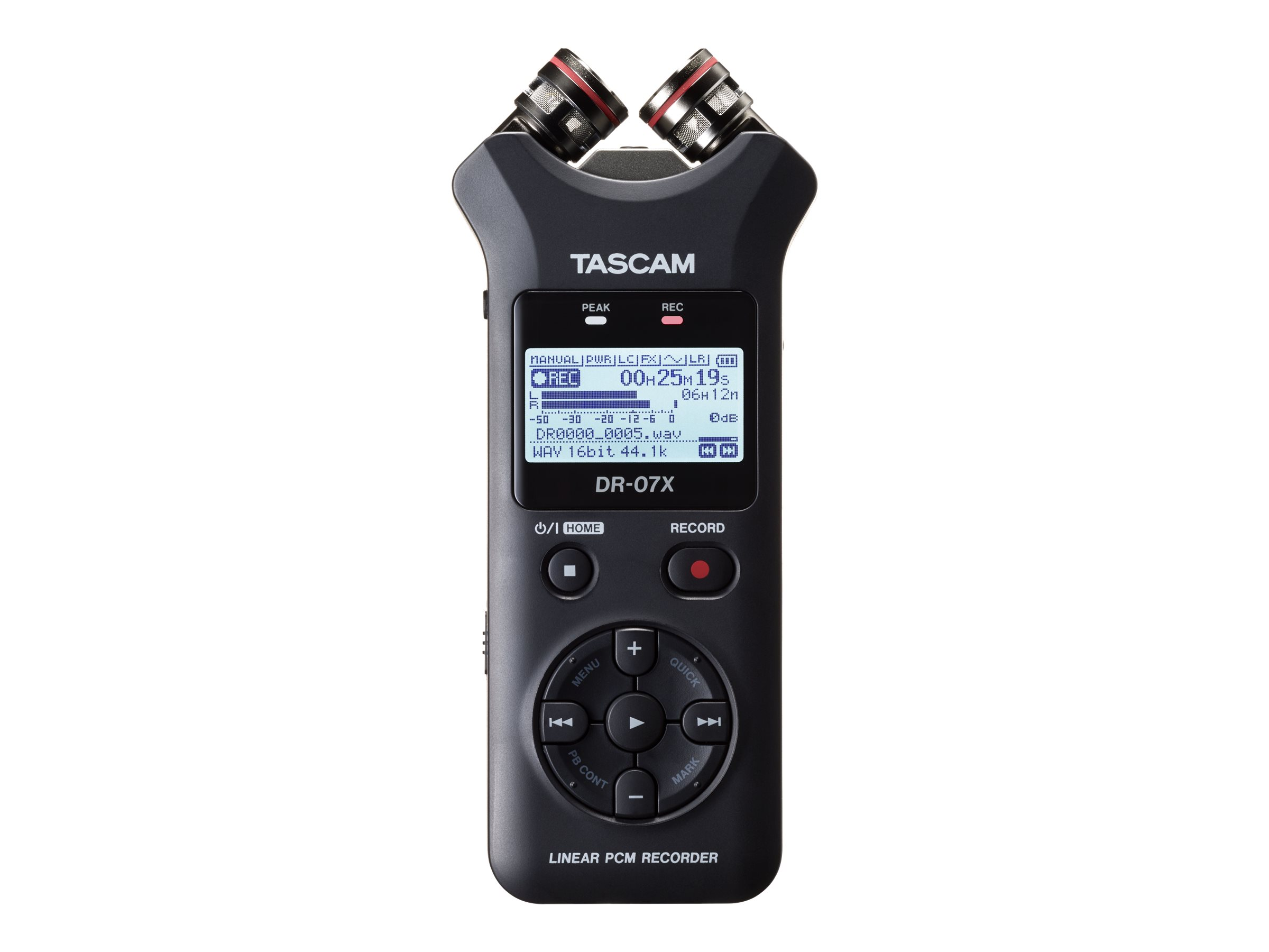 Tascam DR-07X - Voicerecorder