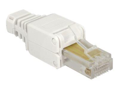 DeLOCK - Netzwerkanschluss - RJ-45 (S) - UTP - CAT 5e - (Anzahl pro Packung: 2)