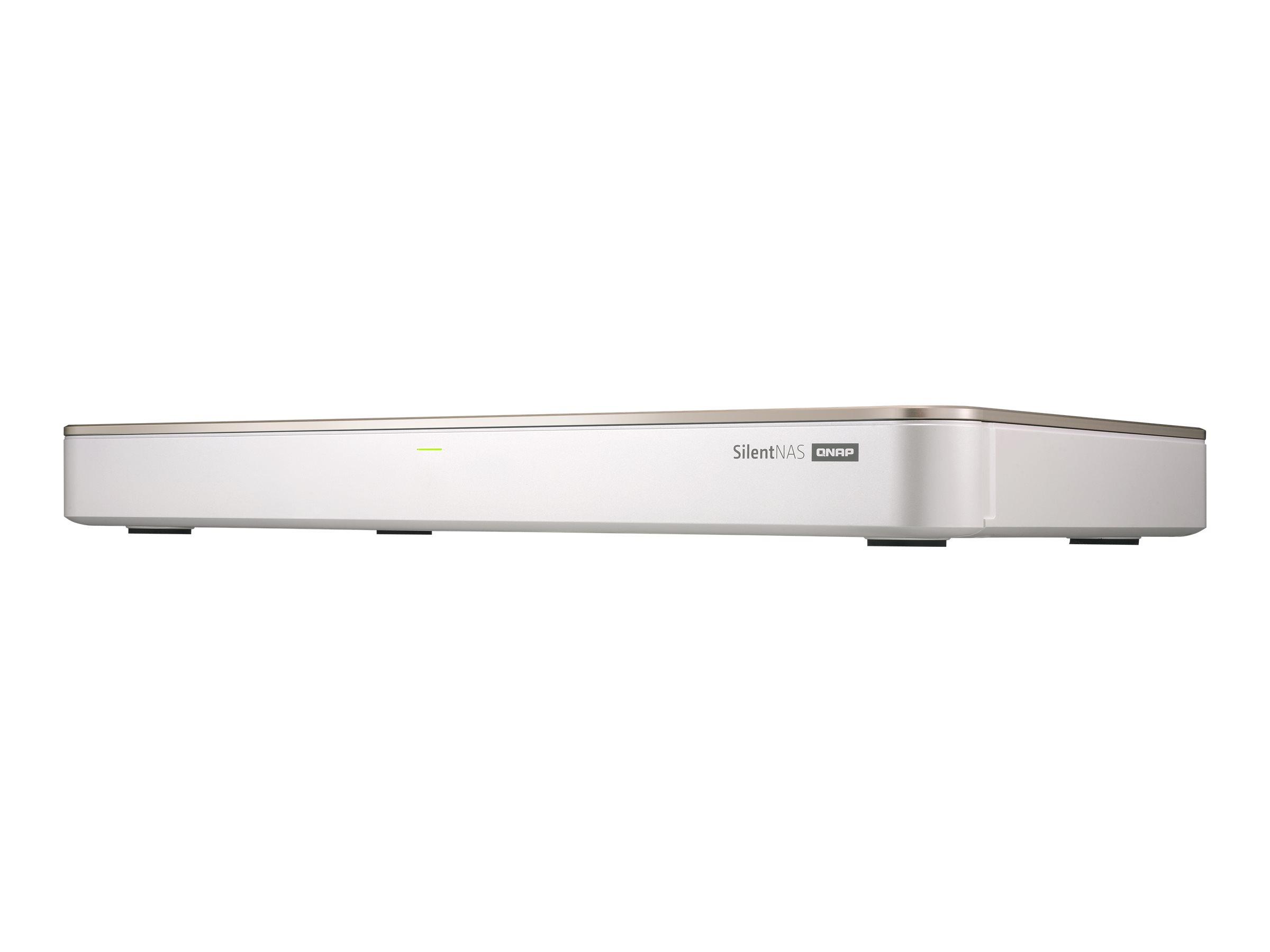 QNAP HS-453DX-8G - NAS-Server - 4 Schächte - SATA 6Gb/s - RAID 0, 1, 5, 6, 10, JBOD, 5 Hot Spare, 6 Hot Spare, 10-Hot-Spare - RA