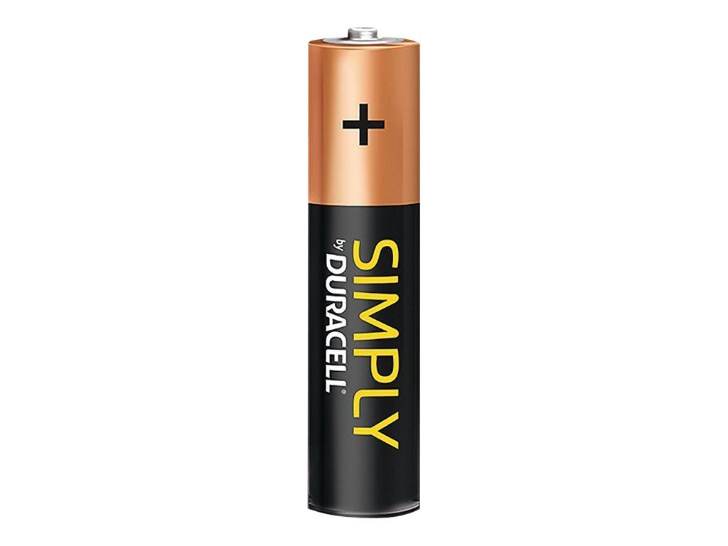 Duracell Simply MN2400B12S - Batterie 12 x AAA-Typ - Alkalisch