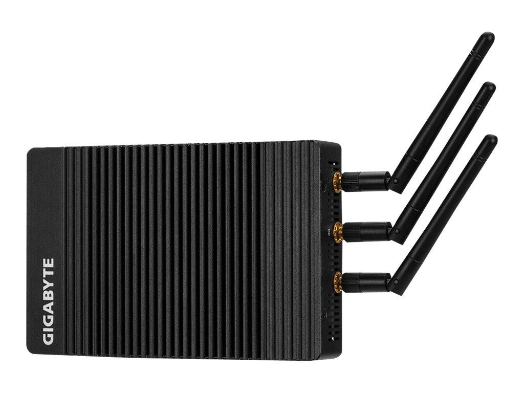 Gigabyte BRIX IoT GB-EAPD-4200 (rev. 1.0) - Barebone - Ultra Compact PC Kit - 1 x Pentium N4200 / 1.1 GHz - HD Graphics 505 - Gi