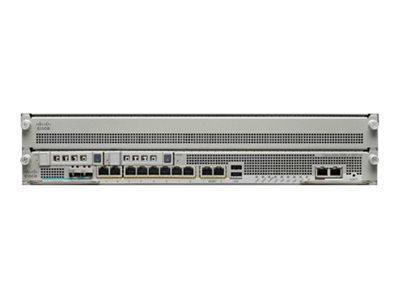 Cisco ASA 5585-X Security Plus Firewall Edition SSP-20 bundle - Sicherheitsgerät - 8 Anschlüsse - GigE - 2U - Rack-montierbar