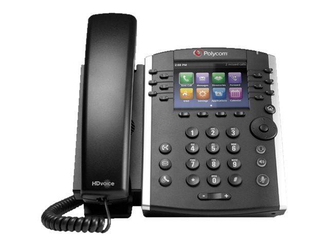 Poly VVX 411 - VoIP-Telefon - dreiweg Anruffunktion - SIP, RTCP, RTP, SRTP, SDP - 12 Leitungen
