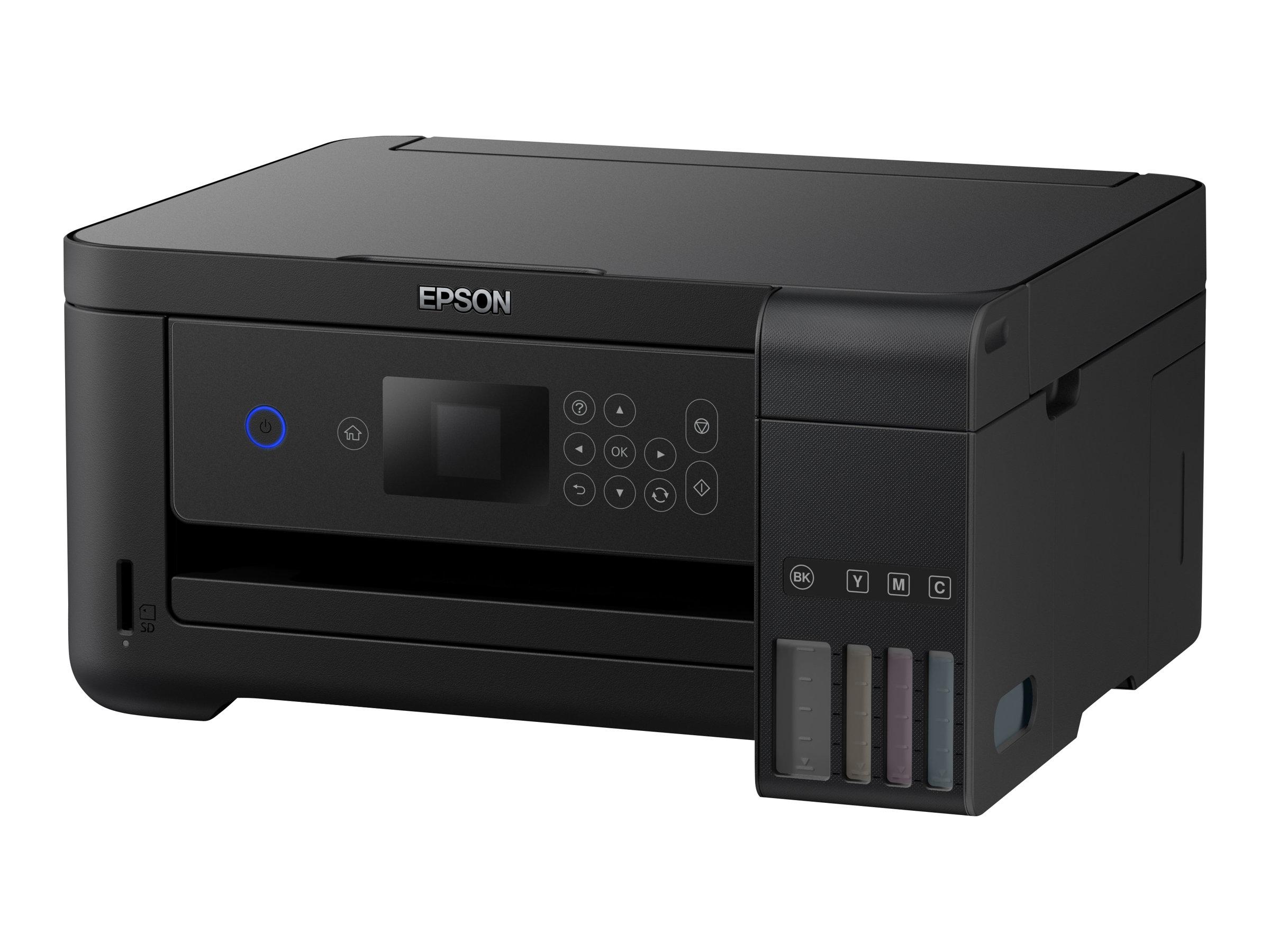 Epson EcoTank ET-2750 - Multifunktionsdrucker - Farbe - Tintenstrahl - Letter A (216 x 279 mm)/A4 (210 x 297 mm) (Original) - A4