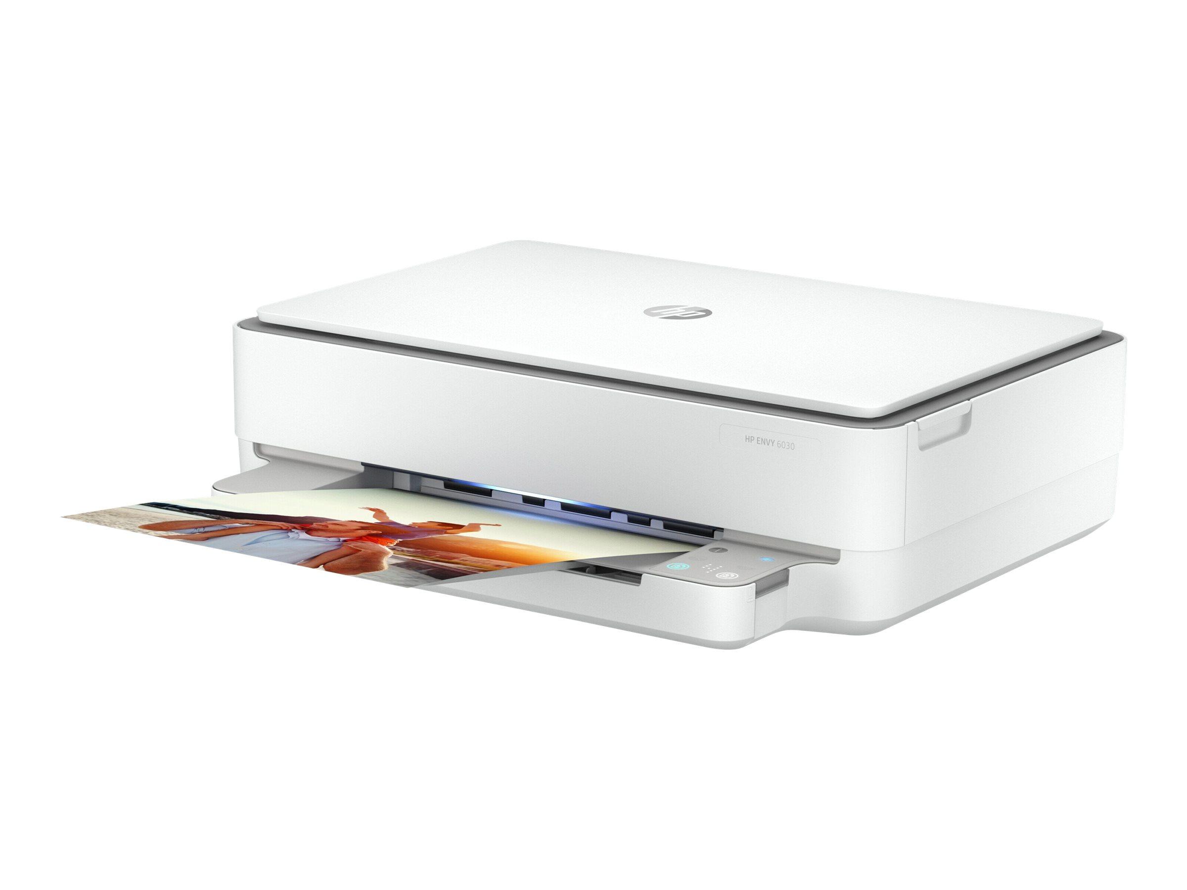 HP Envy 6030 All-In-One - Multifunktionsdrucker - Farbe - Tintenstrahl - 216 x 297 mm (Original) - A4/Letter (Medien)