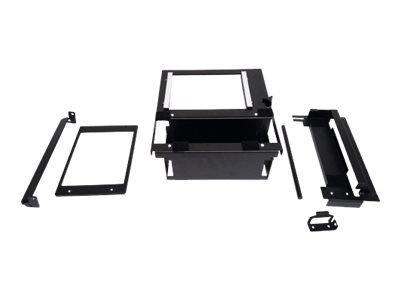 Gamber-Johnson Wide Body Console Brother Pocket Jet Mount Upgrade Package - Befestigungskit (Montage-Adapter) für Drucker - schw