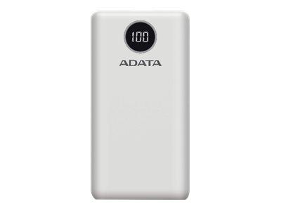ADATA P20000QCD - Powerbank - 20000 mAh - 74 Wh - 18 Watt - QC 3.0 / PD 3.0