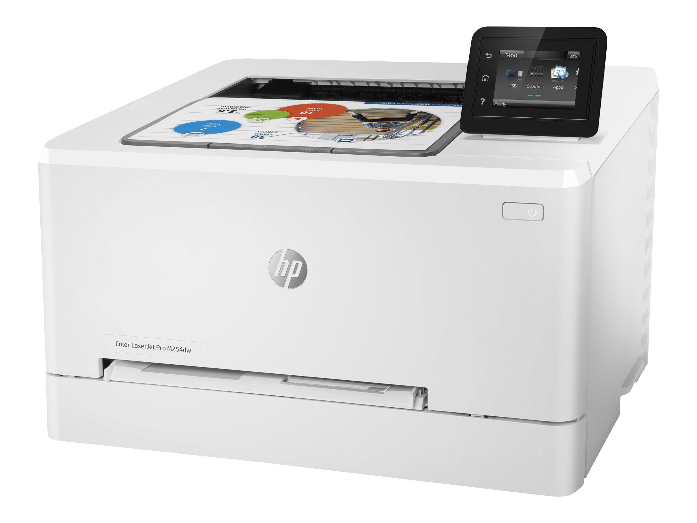 HP Color LaserJet Pro M254dw - Drucker - Farbe - Duplex - Laser - A4/Legal