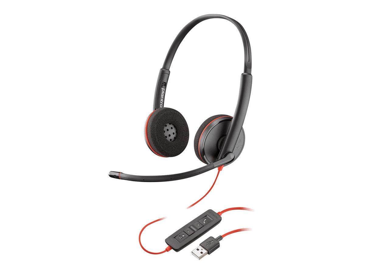 Poly - Plantronics Blackwire C3220 - 3200 Series - Headset - On-Ear - kabelgebunden