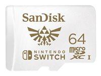 SanDisk Nintendo Switch - Flash-Speicherkarte - 64 GB - UHS-I U3 - microSDXC UHS-I - für Nintendo Switch