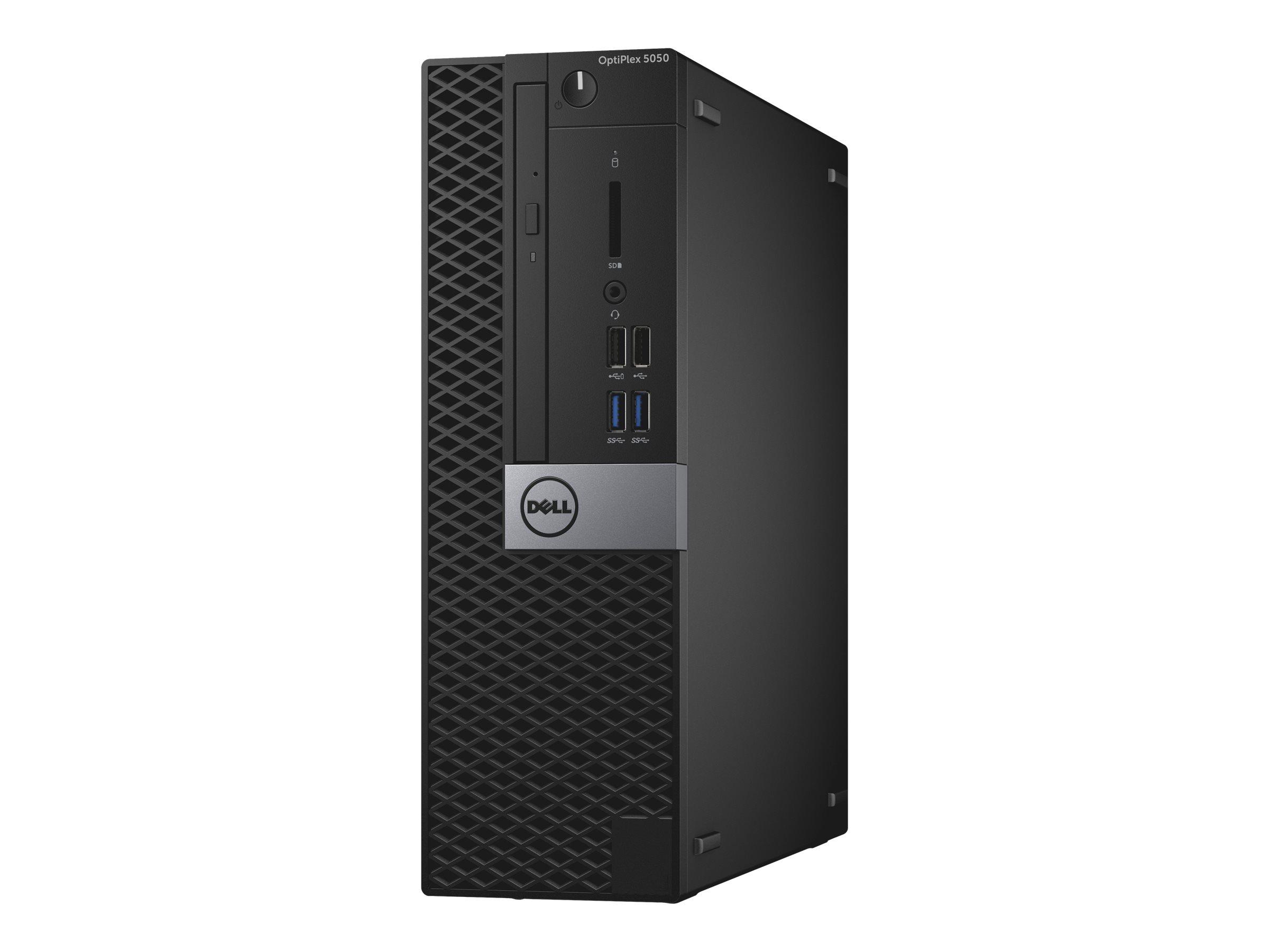 Dell OptiPlex 5050 - SFF - 1 x Core i5 7500 / 3.4 GHz - RAM 8 GB - SSD 128 GB - DVD-Writer
