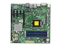 SUPERMICRO X11SSQ - Motherboard - micro ATX - LGA1151 Socket - Q170 - USB 3.0