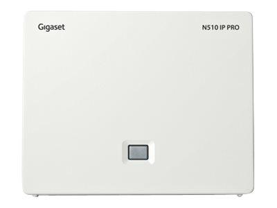 Gigaset N510 IP PRO - Gigaset S650H Pro - Basisstation für schnurloses VoIP-Telefon - mit Bluetooth-Schnittstelle mit Rufnummern