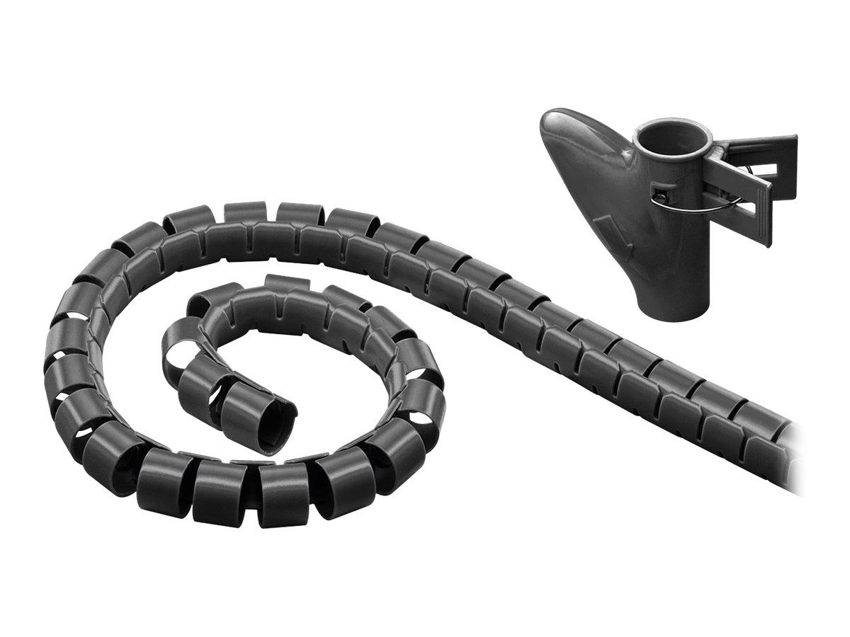 goobay WireTube - Kabelschlauch - 2.5 m - Schwarz