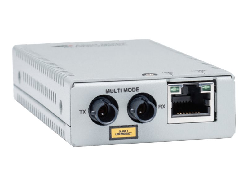 Allied Telesis AT-MMC2000/SC - Medienkonverter - GigE - 10Base-T, 1000Base-SX, 100Base-TX, 1000Base-T - RJ-45 / SC multi-mode -