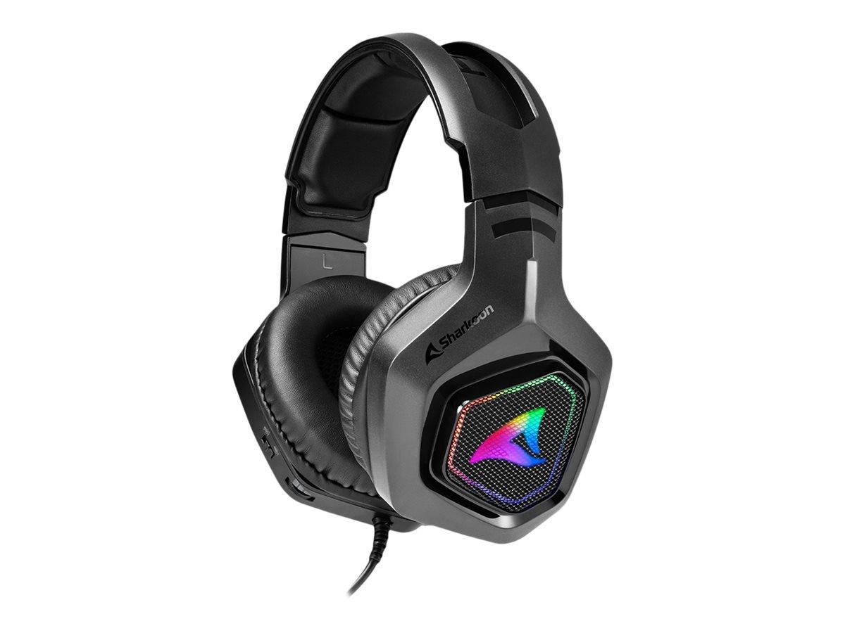 Sharkoon Rush ER30 - Headset - ohrumschliessend - kabelgebunden - USB-A