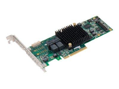 Microsemi Adaptec 8805 - Speichercontroller (RAID) - 8 Sender/Kanal - SATA 6Gb/s / SAS 12Gb/s Low-Profile - 12 Gbit/s - RAID 0,