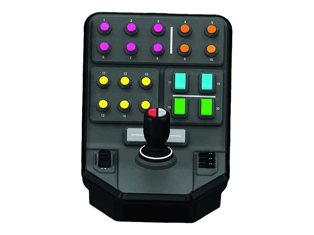 Logitech Heavy Equipment Side Panel - Controller für Flugsimulator - kabelgebunden - für PC