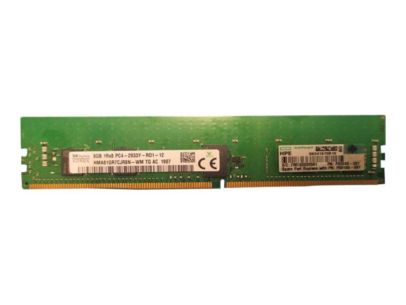 HPE SmartMemory - DDR4 - Modul - 8 GB - DIMM 288-PIN - 2933 MHz / PC4-23400