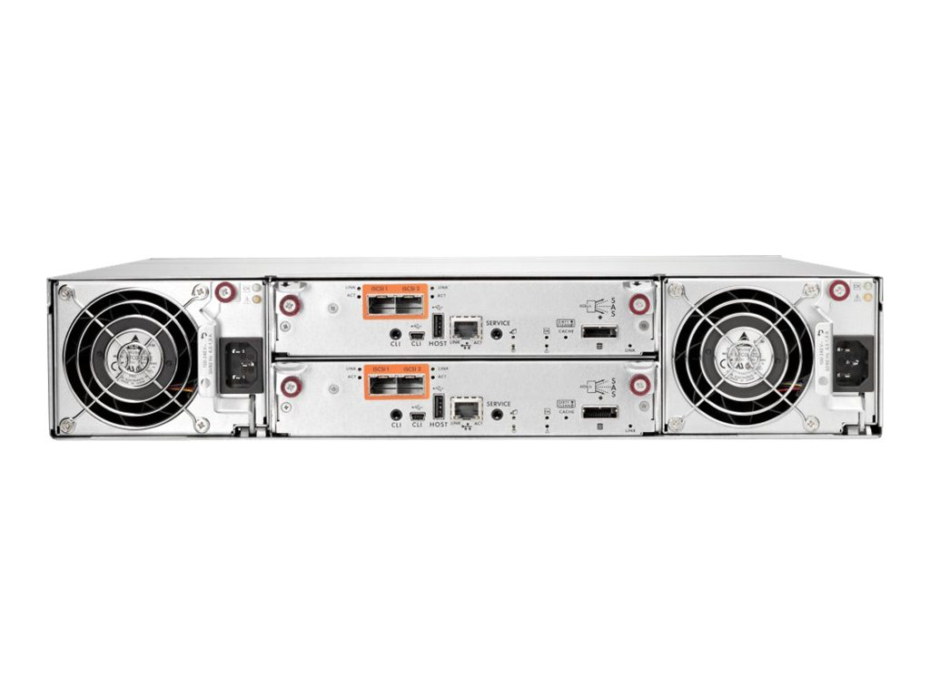 HPE iSCSI Controller - Netzwerkadapter - 10Gb Ethernet x 2 - für Modular Smart Array P2000 2.5-in, P2000 3.5-in, P2000 G3
