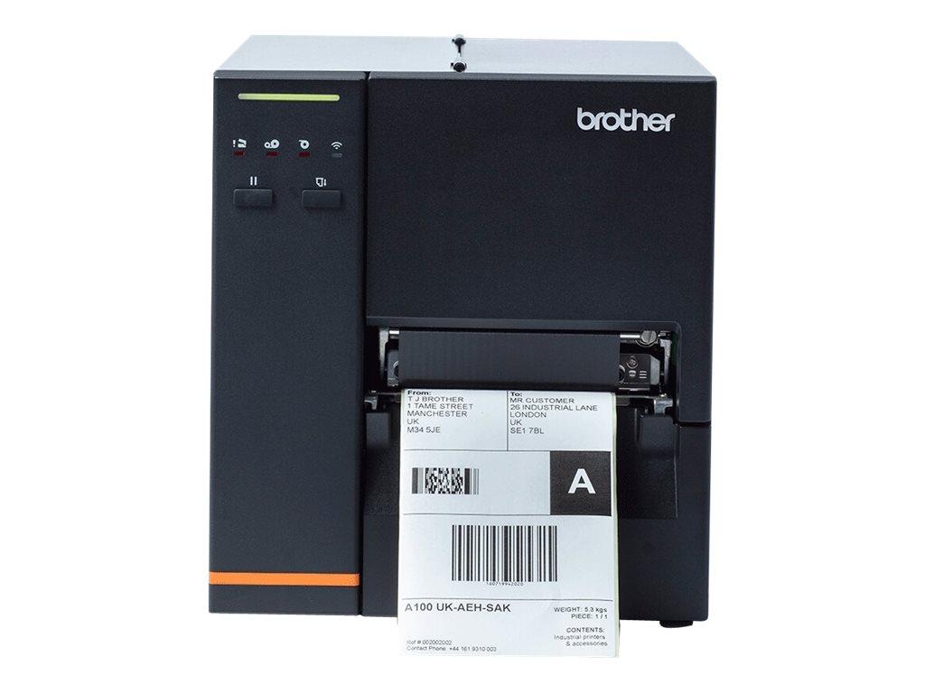 Brother TJ-4120TN Industrial Label Printer - Etikettendrucker - Thermodirekt / Thermotransfer - Rolle (12 cm) - 300 dpi - bis zu