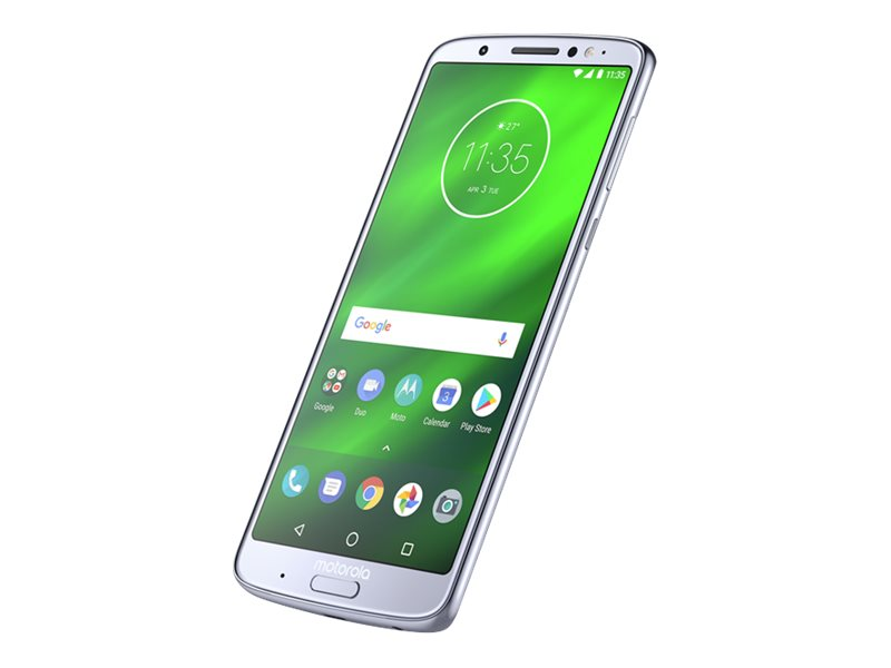 Motorola Moto G6 Plus - Smartphone - Dual-SIM - 4G LTE - 64 GB - microSDXC slot