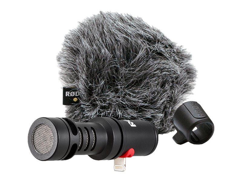 RØDE VideoMic Me-L - Mikrofon - Apple Lightning - Schwarz - für Apple iPad/iPhone (Lightning)