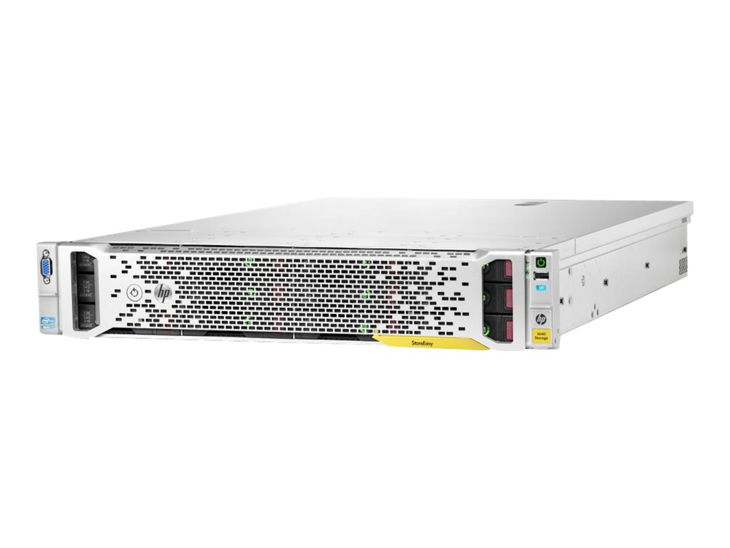 HPE StoreEasy 1640 - NAS-Server - 12 Schächte - 16 TB - Rack - einbaufähig