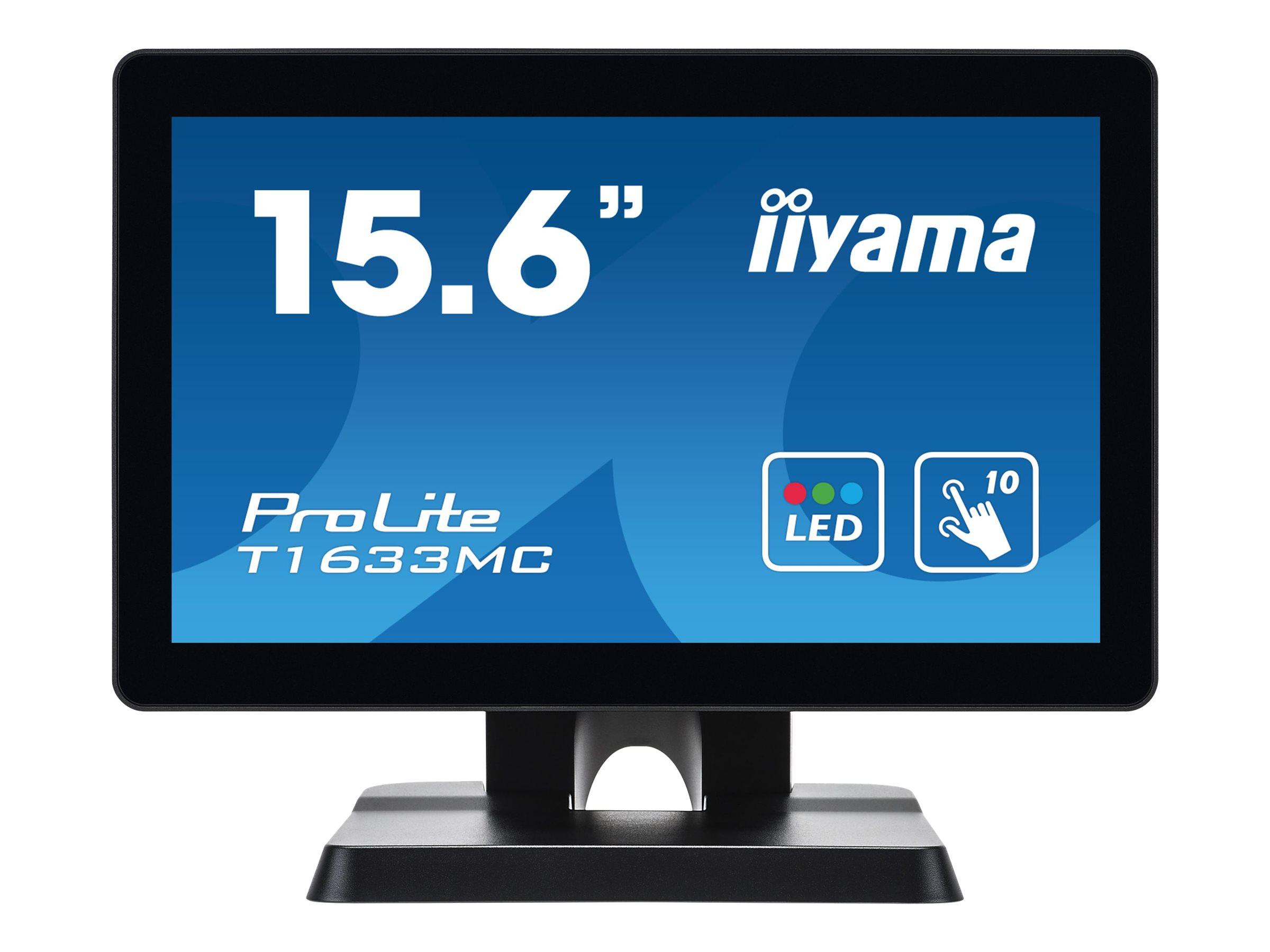 iiyama ProLite T1633MC-B1 - LED-Monitor - 39.6 cm (15.6