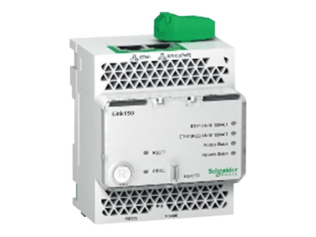Schneider Link150 Ethernet Gateway with POE - Gateway - 10Mb LAN, Modbus