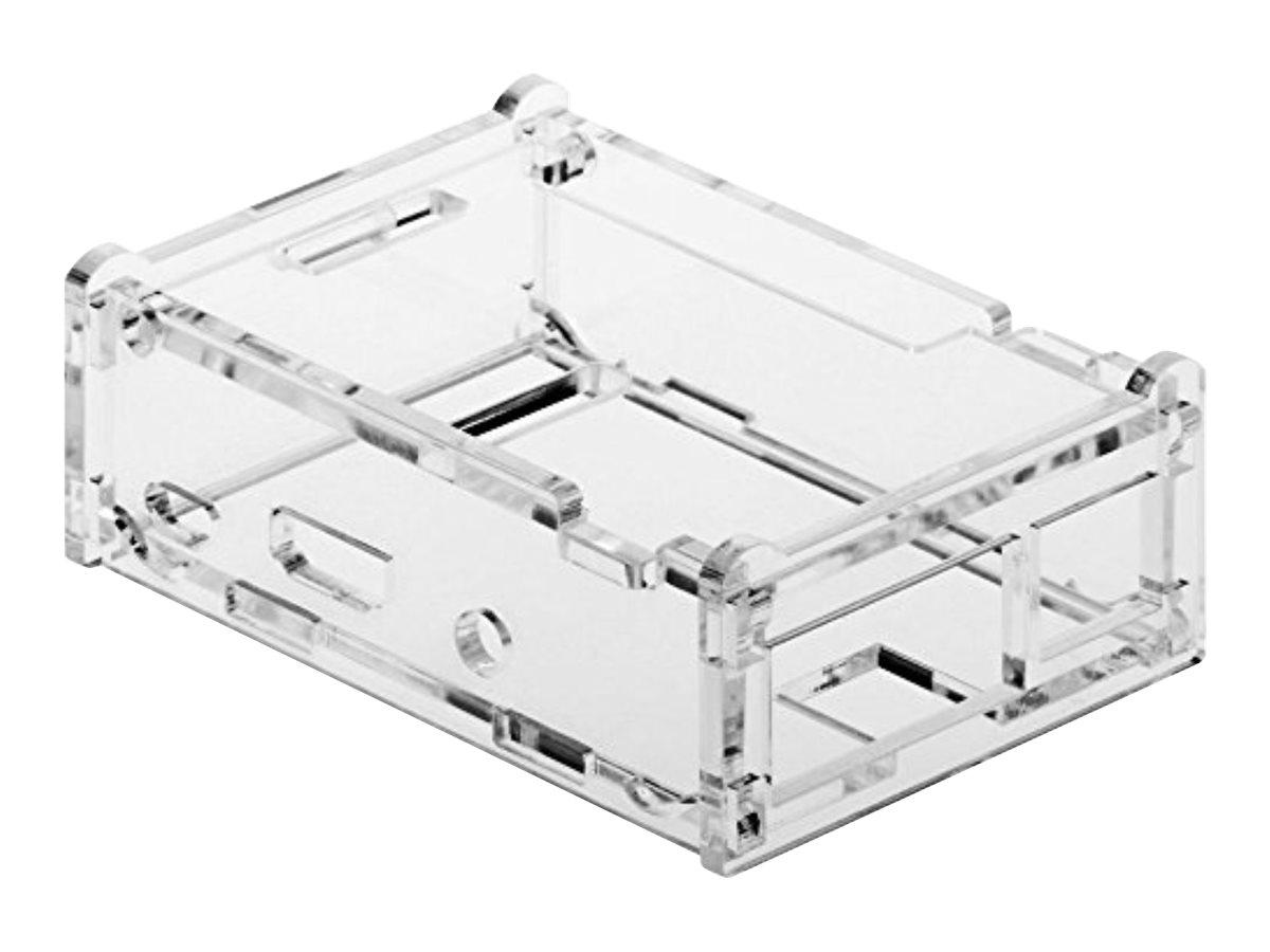 M-CAB - Hülle - Acryl - durchsichtig - für Raspberry Pi 2 Model B, 2 Model B V1.2, 2 Sense HAT, 3 Model B