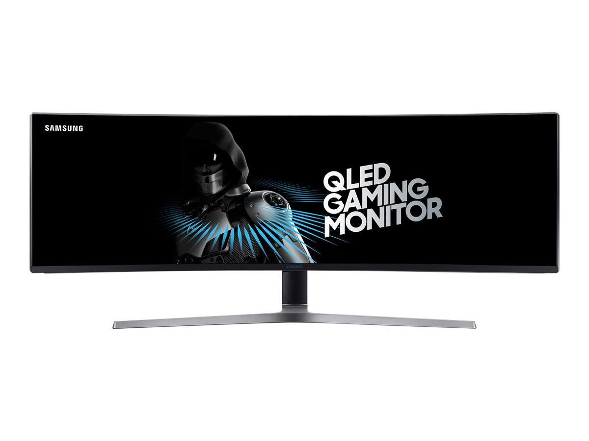 Samsung C49HG90DMU - CHG9 Series - QLED-Monitor - gebogen - 124.5 cm (49