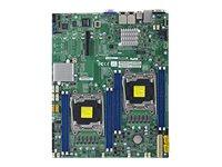 SUPERMICRO X10DRD-LT - Motherboard - Erweitertes ATX - LGA2011-v3-Sockel - 2 Unterstützte CPUs - C612