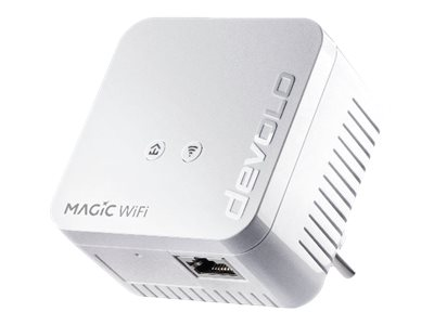 devolo Magic 1 WiFi mini - Bridge - HomeGrid - 802.11b/g/n - 2,4 GHz - an Wandsteckdose anschliessbar