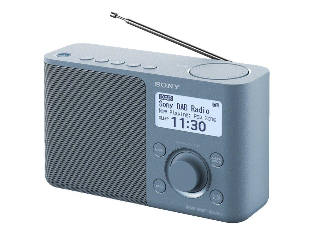 Sony XDR-S61D - Tragbares DAB-Radio - Blau