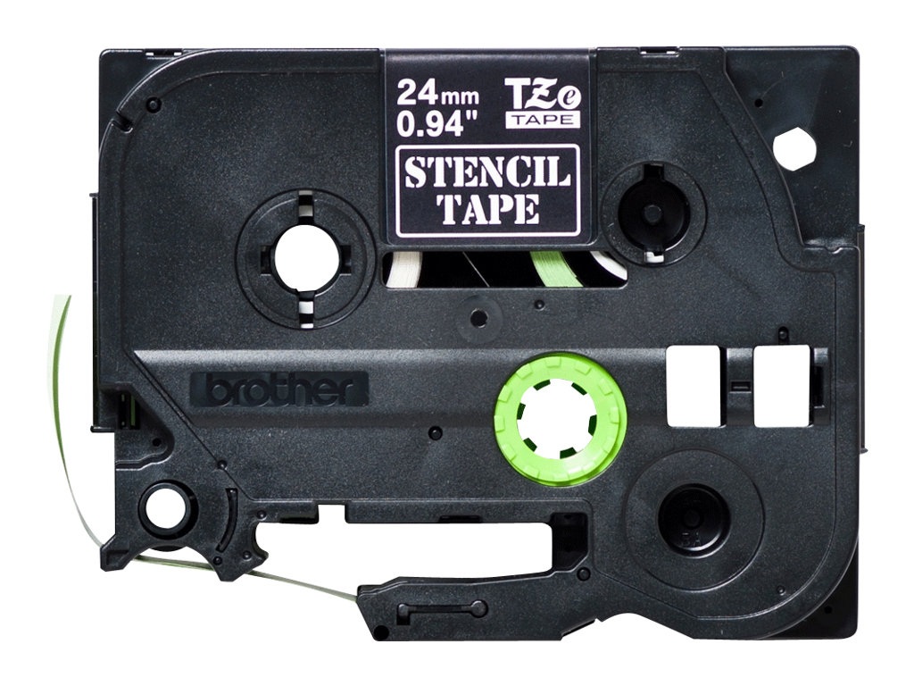 Brother STe151 - Schwarz - Rolle (2,4 cm x 3 m) 1 Rolle(n) Stempelband - für P-Touch PT-2430, 2470, 2730, 3600, E500, E550, PT-G