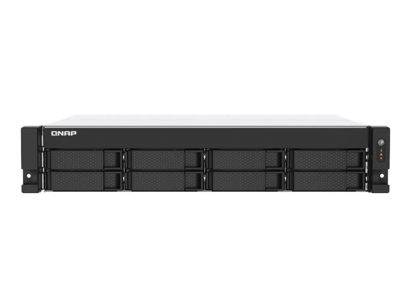 QNAP TS-873AU - NAS-Server - 8 Schächte - Rack - einbaufähig - SATA 6Gb/s