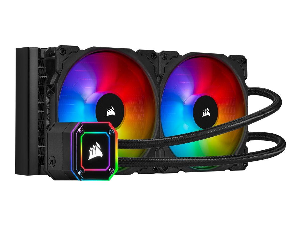 CORSAIR iCUE H115i Elite Capellix - Prozessor-Flüssigkeitskühlsystem - (für: LGA1156, AM2+, AM3, LGA1155, LGA2011, LGA1150, LGA2