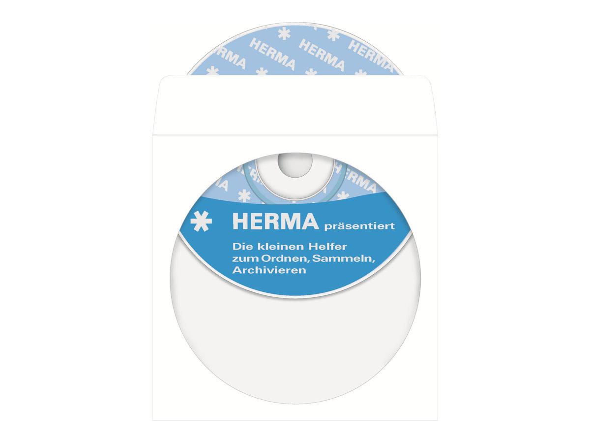 HERMA - CD-/DVD-Hülle - weiss