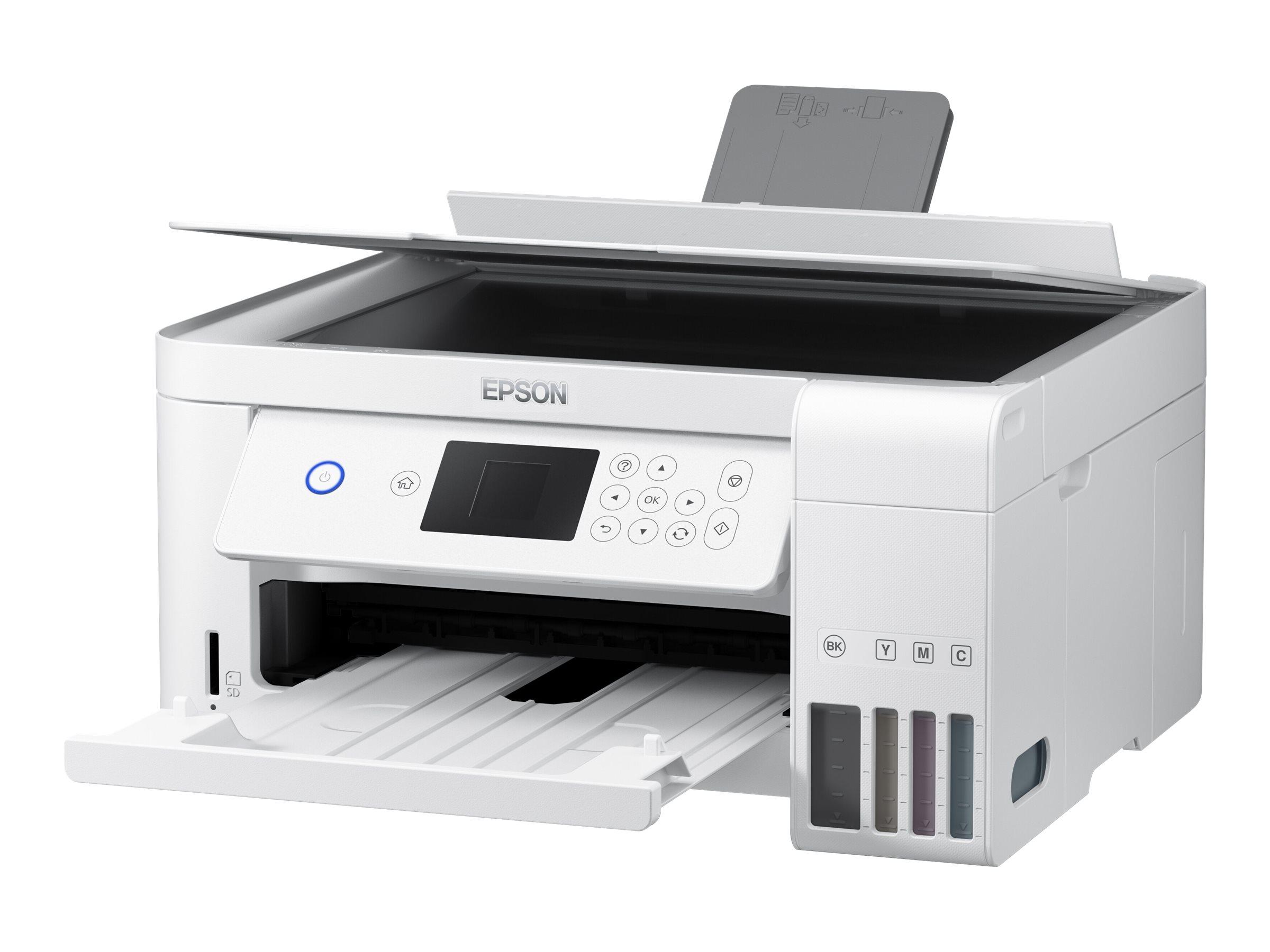 Epson EcoTank ET-2756 - Multifunktionsdrucker - Farbe - Tintenstrahl - refillable - A4/Legal (Medien)
